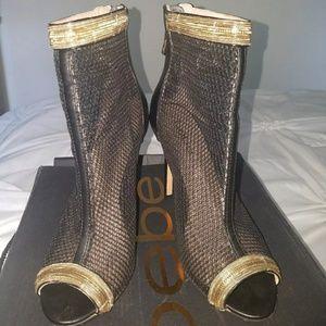 Bebe Black Shoe size 7 original$159